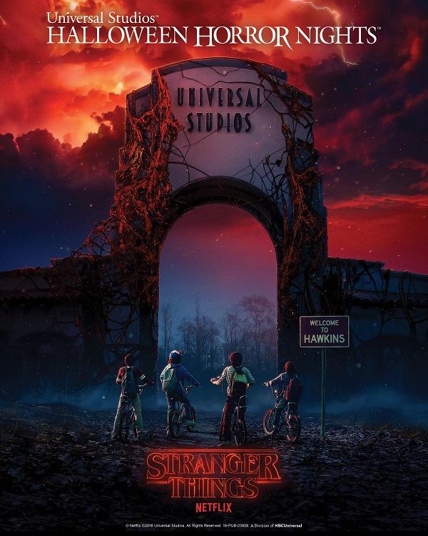 """Stranger Things"" prende vita negli Halloween Horror Nights degli Universal Studios"