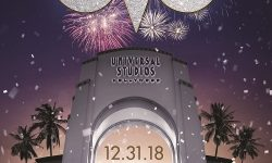 EVE l'evento di Capodanno 2019 a Universal Studios Hollywood a Los Angeles